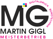 MG MARTIN GIGL DIGITALDRUCK BÜROTECHNIK